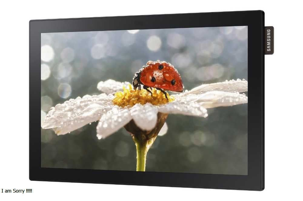 "SAMSUNG DIGITAL SIGNAGE 10"" TOUCH SCREEN DB10E-T"